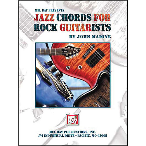 Mel Bay Jazz Chords for Rock Guitarists Book