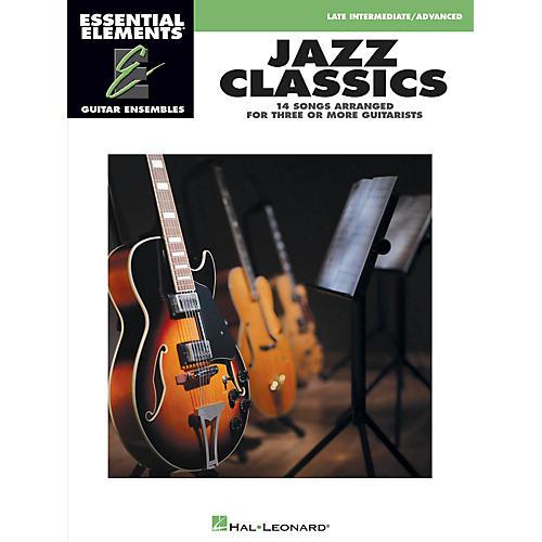 Hal Leonard Jazz Classics Essential Elements Guitar Series Softcover-thumbnail