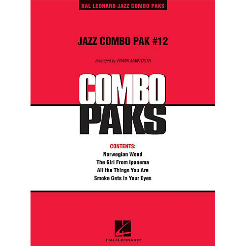 Hal Leonard Jazz Combo Pak #12 (with audio download) Jazz Band Level 3 Arranged by Frank Mantooth-thumbnail