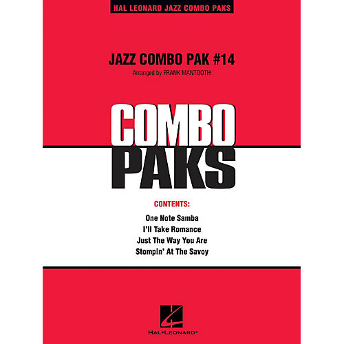 Hal Leonard Jazz Combo Pak #14 (with audio download) Jazz Band Level 3 Arranged by Frank Mantooth-thumbnail