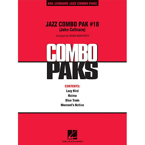 Hal Leonard Jazz Combo Pak #18 (John Coltrane) Jazz Band Level 3 by John Coltrane Arranged by Frank Mantooth-thumbnail