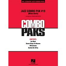 Hal Leonard Jazz Combo Pak #19 (Miles Davis) Jazz Band Level 3 by Miles Davis Arranged by Frank Mantooth