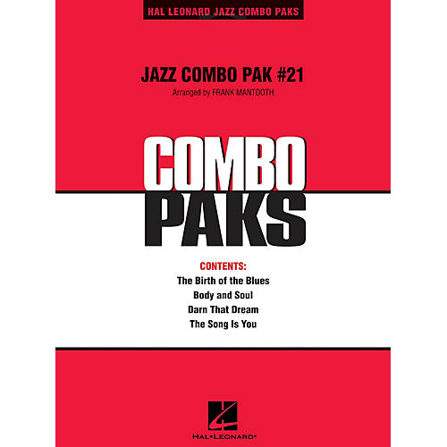 Hal Leonard Jazz Combo Pak #21 (with audio download) Jazz Band Level 3 Arranged by Frank Mantooth-thumbnail