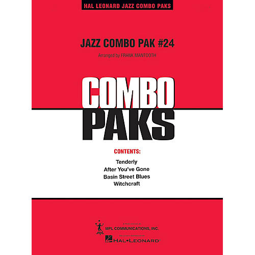 Hal Leonard Jazz Combo Pak #24 (with audio download) Jazz Band Level 3 Arranged by Frank Mantooth-thumbnail