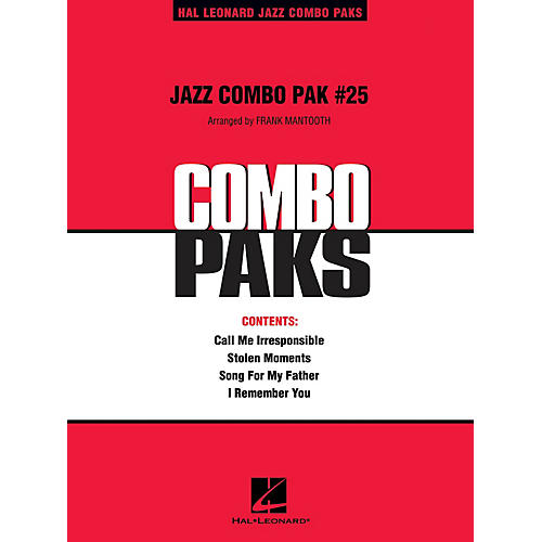 Hal Leonard Jazz Combo Pak #25 (with audio download) Jazz Band Level 3 Arranged by Frank Mantooth-thumbnail
