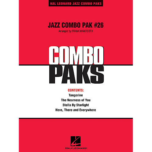 Hal Leonard Jazz Combo Pak #26 (with audio download) Jazz Band Level 3 Arranged by Frank Mantooth-thumbnail