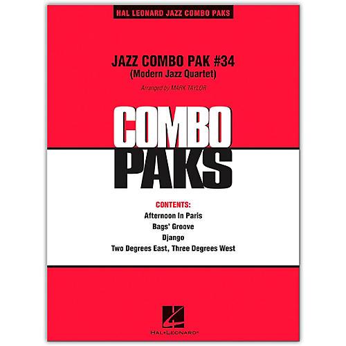 Hal Leonard Jazz Combo Pak #34 (Modern Jazz Quartet) Level 3