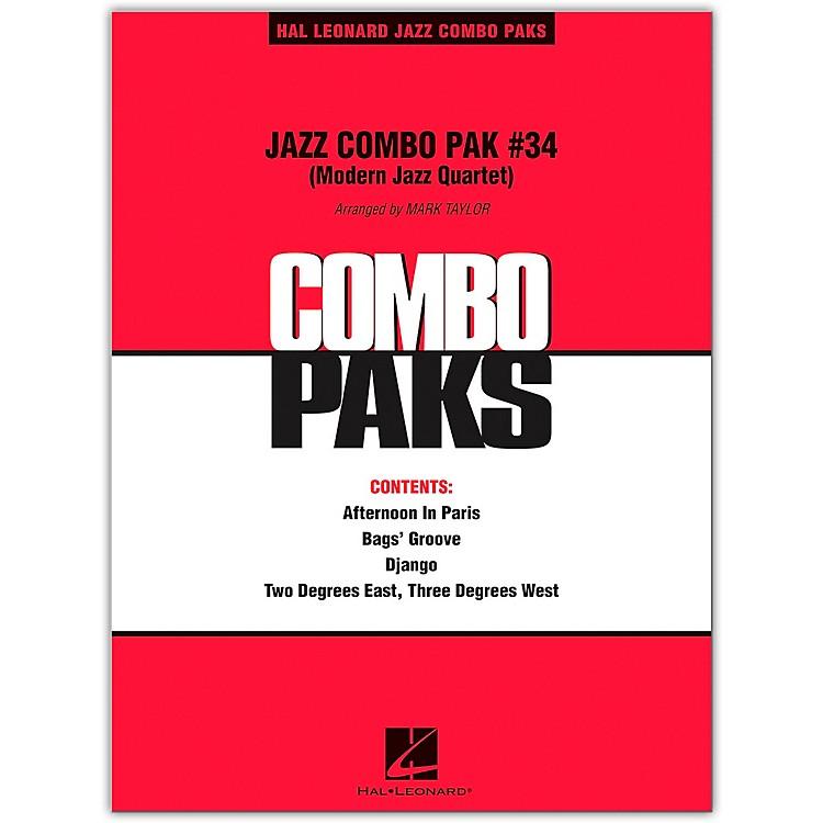 Hal LeonardJazz Combo Pak #34 (Modern Jazz Quartet) Level 3