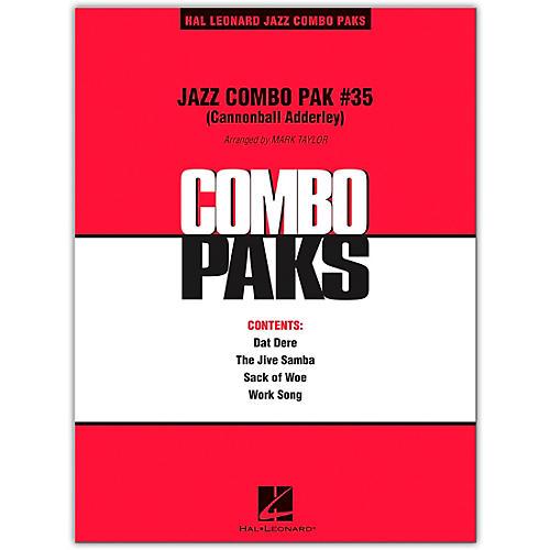 Hal Leonard Jazz Combo Pak #35 (Cannonball Adderley) Level 3