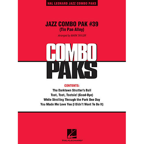 Hal Leonard Jazz Combo Pak #39 (Tin Pan Alley) (with audio download) Jazz Band Level 3 Arranged by Mark Taylor