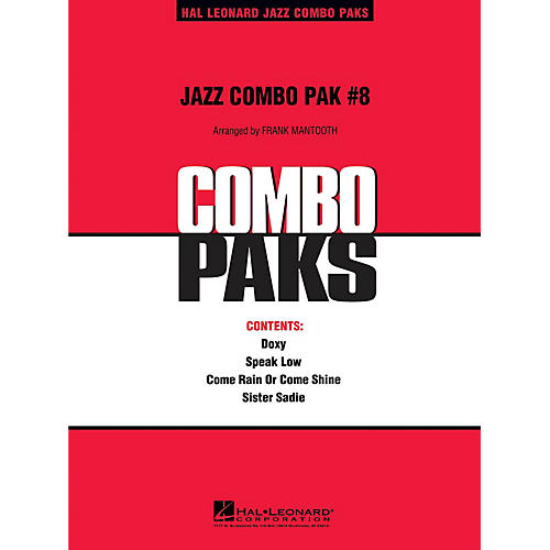 Hal Leonard Jazz Combo Pak #8 (with audio download) Jazz Band Level 3 Arranged by Frank Mantooth-thumbnail