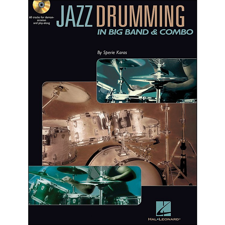 Hal Leonard Jazz Drumming In Big Band & Combo Book/CD