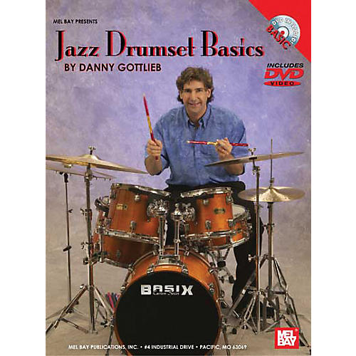 Mel Bay Jazz Drumset Basics DVD and Chart