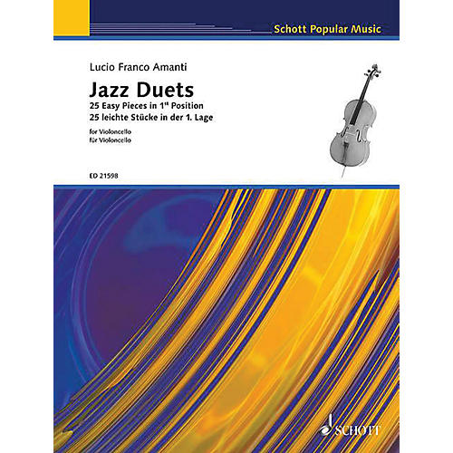 Schott Jazz Duets for Cello (25 Easy Pieces in First Position) String Series Softcover-thumbnail