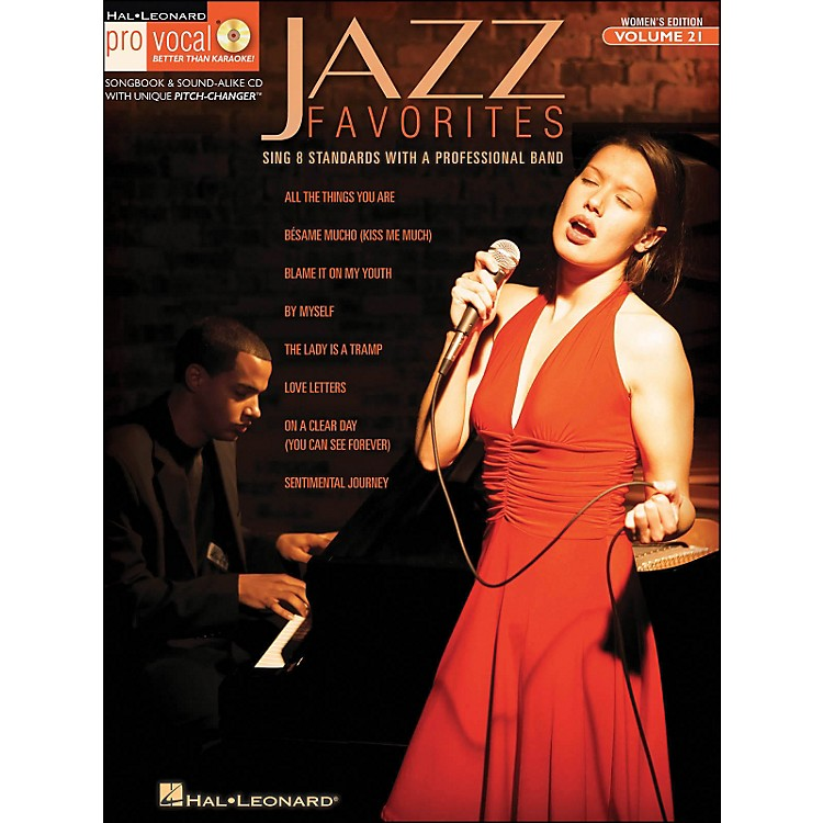 Hal LeonardJazz Favorites - Pro Vocal Series Vol. 21 for Female Singers Book/CD