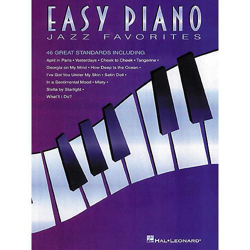 Hal Leonard Jazz Favorites For Easy Piano
