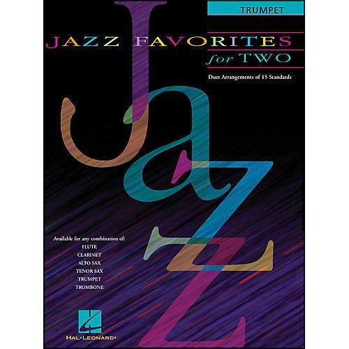 Hal Leonard Jazz Favorites for Two for Trumpet