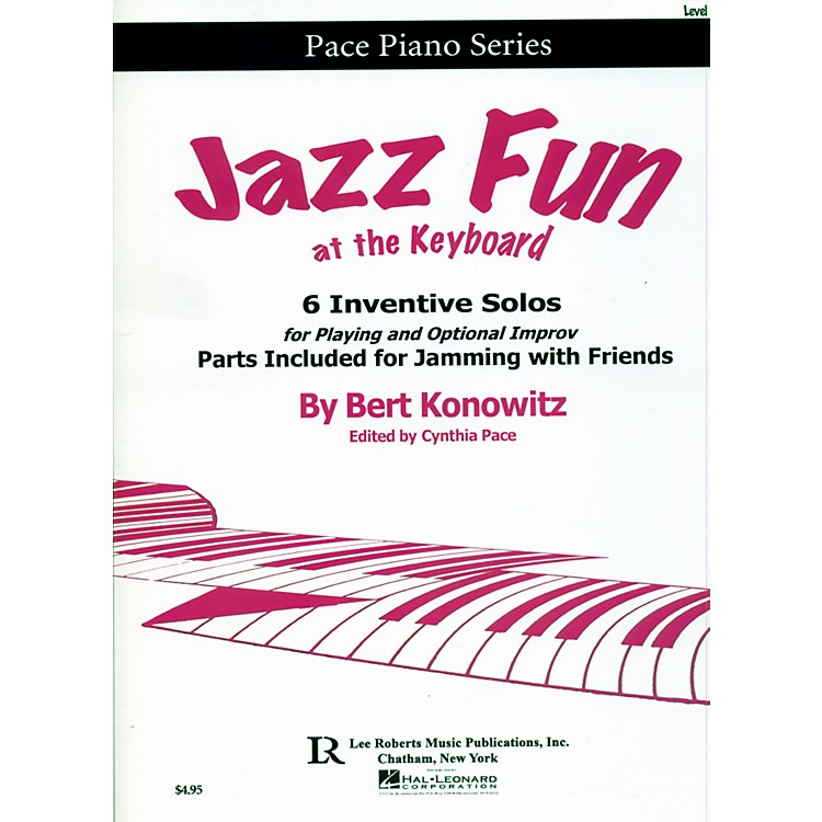Hal LeonardJazz Fun at the Keyboard -  6 Inventive Solos for Playing and Optional Improv