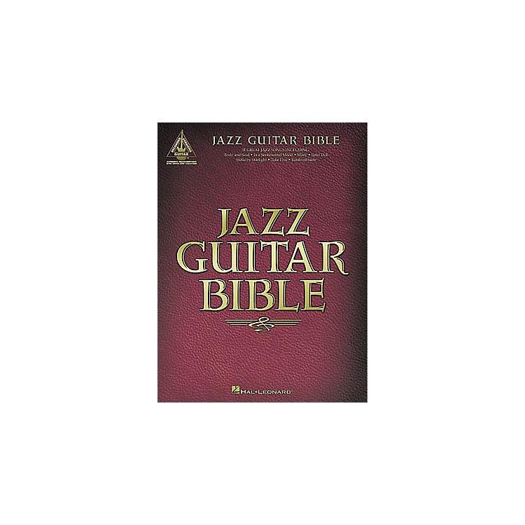 Hal LeonardJazz Guitar Bible Tab Songbook
