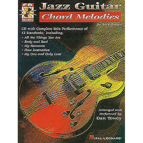 Hal Leonard Jazz Guitar Chord Melodies Guitar Tab Songbook with CD