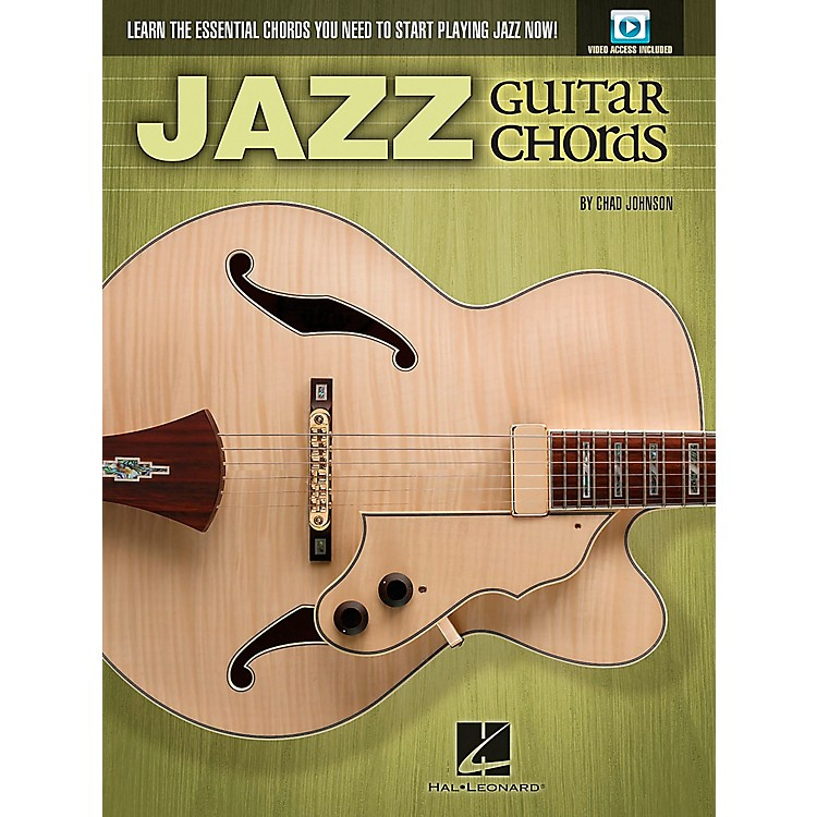 Hal LeonardJazz Guitar Chords - Learn the Essential Chords You Need to Start Playing Jazz Now! Book/DVD