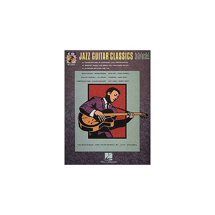 Hal Leonard Jazz Guitar Classics CD & Book