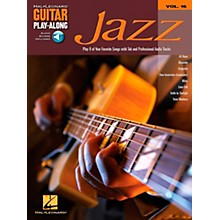 Hal Leonard Jazz Guitar Play-Along Series Book with CD