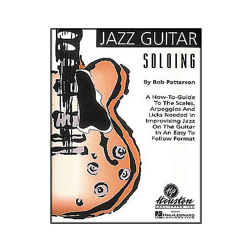 Houston Publishing Jazz Guitar Soloing (Book/CD)