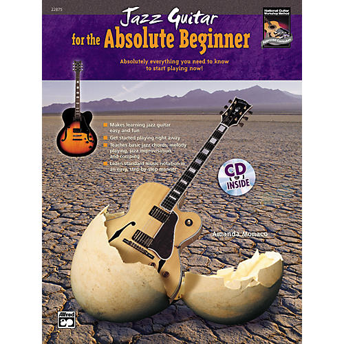 Alfred Jazz Guitar for the Absolute Beginner Book/CD Set