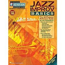 Hal Leonard Jazz Improv Basics Jazz Play Along Series Softcover Audio Online