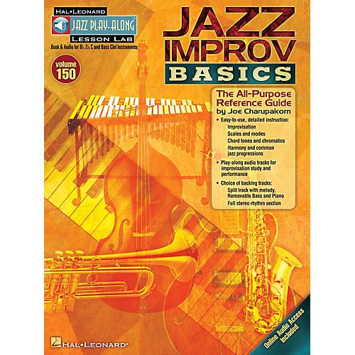 Hal Leonard Jazz Improv Basics Jazz Play Along Series Softcover Audio Online-thumbnail