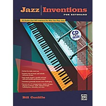 Alfred Jazz Inventions for Keyboard Book & CD
