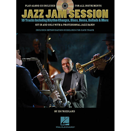 Hal Leonard Jazz Jam Session Jam Trax Series Softcover with CD Written by Ed Friedland-thumbnail