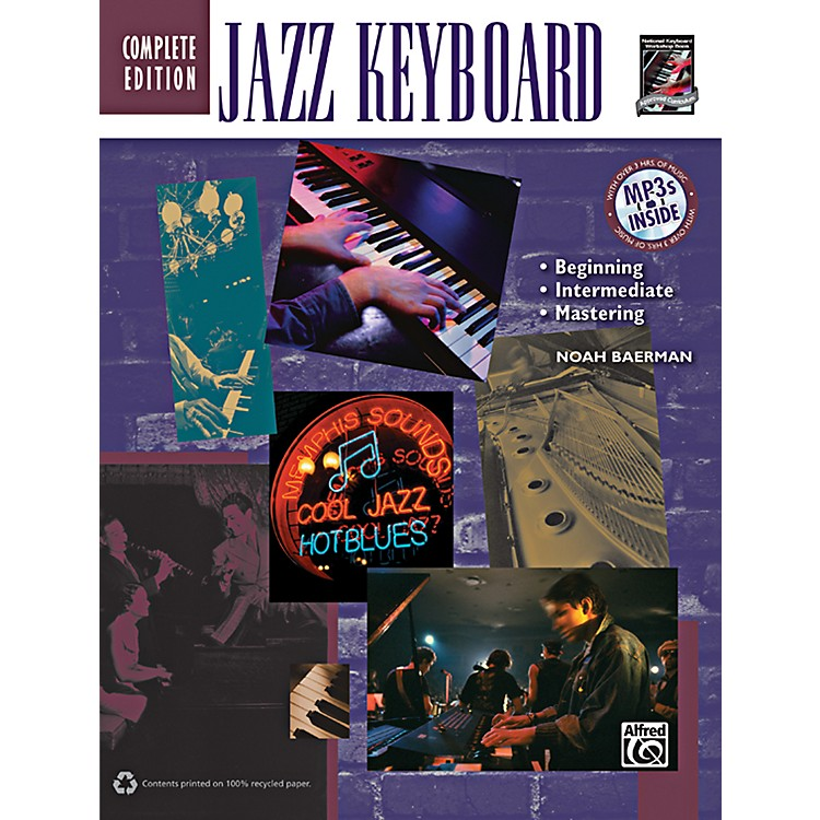 Alfred Jazz Keyboard Method Complete Book & CD