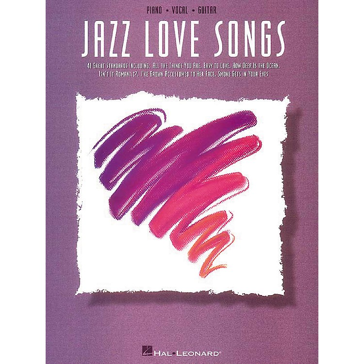 Hal Leonard Jazz Love Songs Piano, Vocal, Guitar Songbook