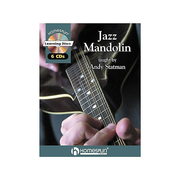 Homespun Jazz Mandolin (Book/CD)
