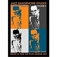Jamey Aebersold Jazz Phrasing For Saxophone Vol.2 Book and CDs