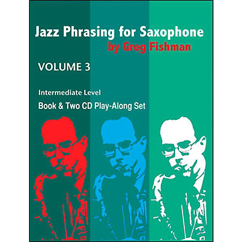 Jamey Aebersold Jazz Phrasing For Saxophone Vol.3 Book and CDs