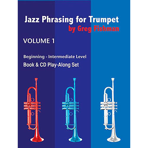Jamey Aebersold Jazz Phrasing For Trumpet Book/CDs