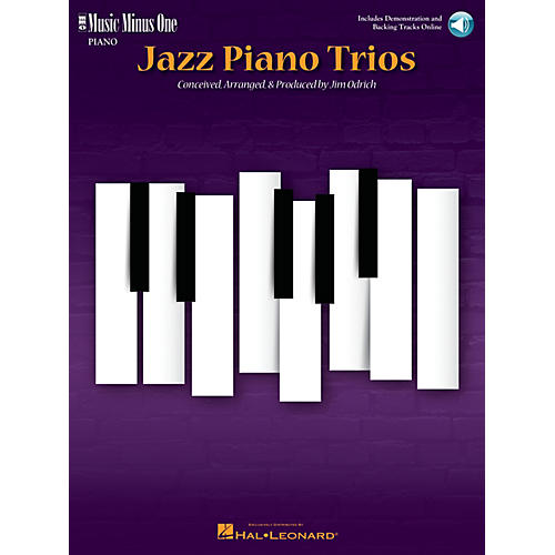 Music Minus One Jazz Piano Trios (Deluxe 2-CD Set) Music Minus One Series Softcover with CD-thumbnail