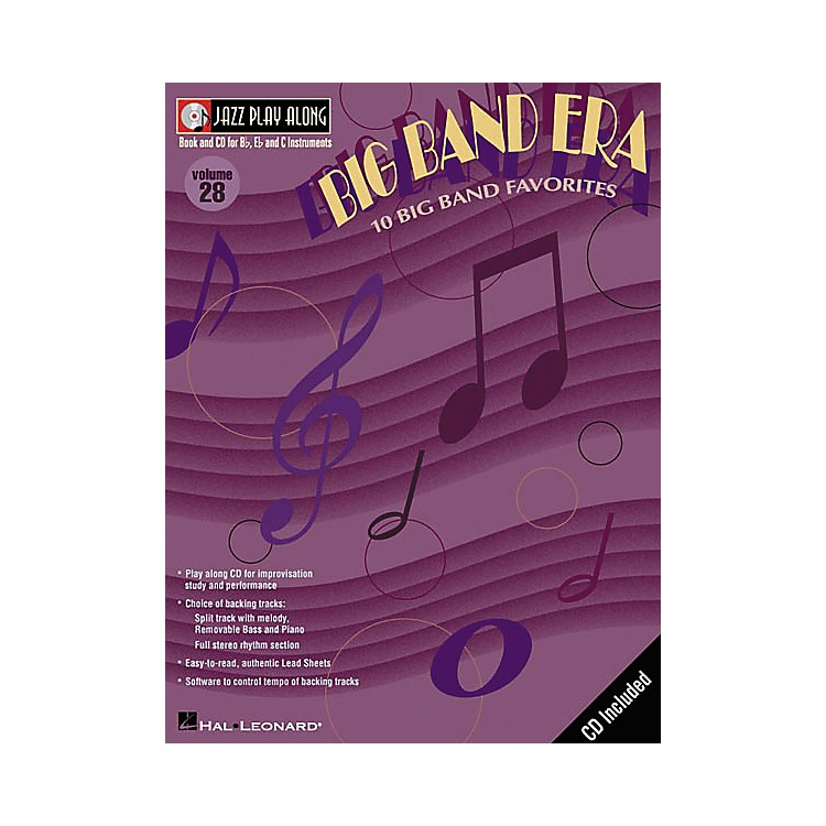 Hal Leonard Jazz Play-Along Series Big Band Era Book with CD