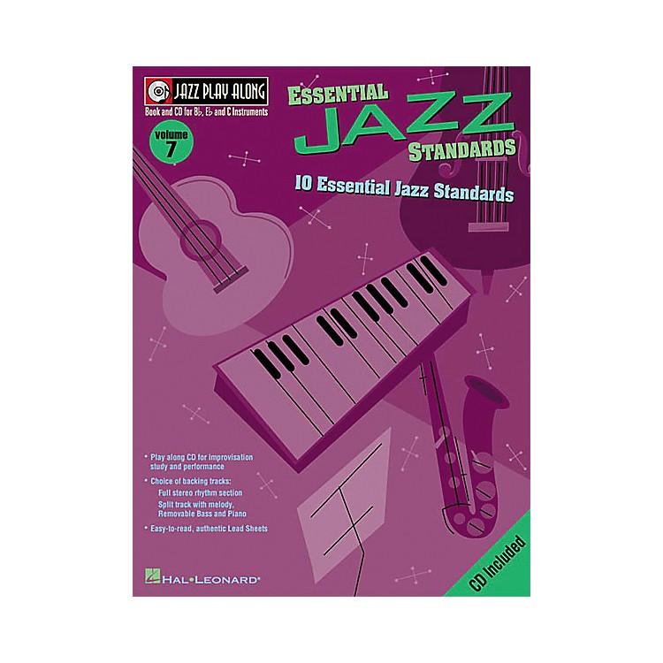 Hal LeonardJazz Play-Along Series Essential Jazz Standards Book with CD