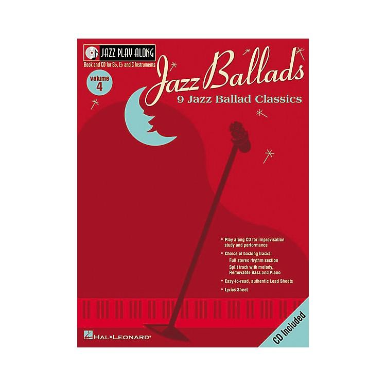 Hal LeonardJazz Play-Along Series Jazz Ballads Book with CD