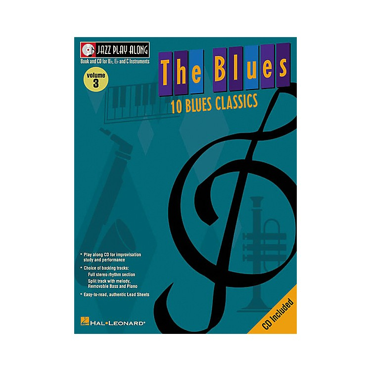 Hal Leonard Jazz Play-Along Series The Blues Book with CD