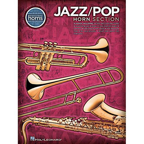 Hal Leonard Jazz/Pop Horn Section - Transcribed Horn Songbook-thumbnail