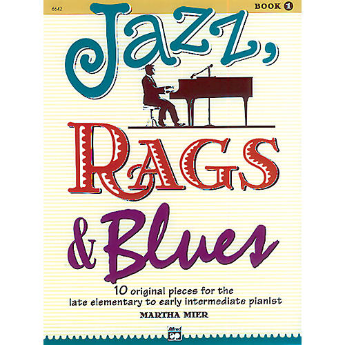 Alfred Jazz Rags & Blues Book 1