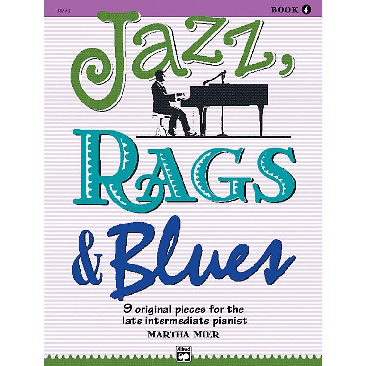 AlfredJazz Rags & Blues Book 4