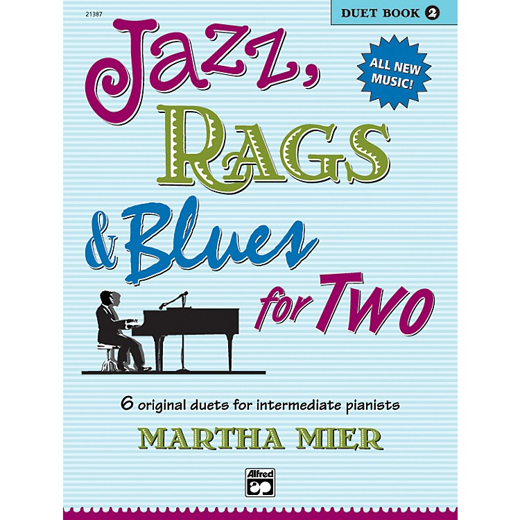 AlfredJazz Rags & Blues for Two Book 2