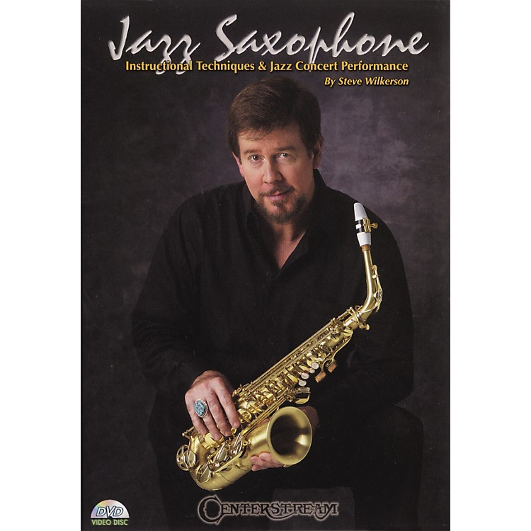 Centerstream Publishing Jazz Saxohone - Instructional Techniques and Jazz Concert Performance (DVD)