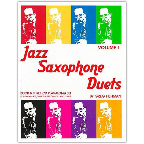 Jamey Aebersold Jazz Saxophone Duets Book/CDs